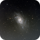 M33 LRGB,                                Dave Bloomsness