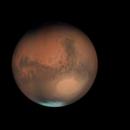 Complete rotation Mars opposition 2018,                    Stefano Quaresima