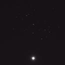 Venus and the Pleiades,                                dkamen
