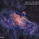 Messier 16 - The Eagle Nebula  SHO,                                Paul Borchardt