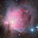 Orion Nebula M42 M43,                                Amir H. Abolfath