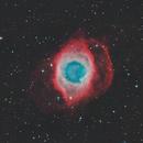NGC7293 - Helix Nebula HaRGB,                                Alejandro López