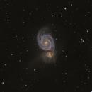 M51 LRGB,                                Vince