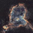 Heart nebula • IC 1805,                                Mikael De Ketelaere