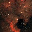 North America and Pelican Nebulae - first attempt LRGB,                                Rob Calfee
