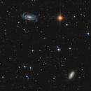 NGC 5033 and NGC 5005,                                Peter Folkesson