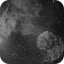 Jellyfish Nebula, IC443. Mosaic.,                                Topographic