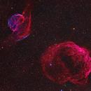 Sh2-223 & Sh2-224 in Auriga,                                equinoxx