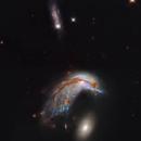 Colliding Galaxy Pair Arp 142 - NGC 2936 and 2937 - Hubble :-),                                Daniel Nobre
