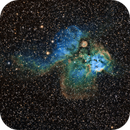 Sh2-311 aka Skull and Crossbones Nebula (featuring NGC2467),                                Brian Boyle