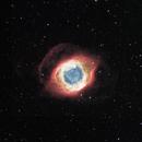 Helix Nebula in narrowband HSO,                                robonrome