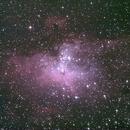 M16 - Nébuleuse de l'Aigle - Les Piliers de la Création,                                Astroluc63