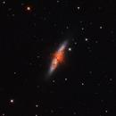 M82 Cigar Galaxy HaRGB,                                Richard Cardoe