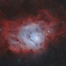 M8 - Lagoon Nebula,                                Victor Van Puyenbroeck