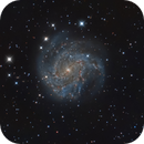 M 83 Galaxy,                                Gerson Pinto