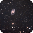 NGC1365 - Great Barred Spiral Galaxy,                                Hayden Purcell