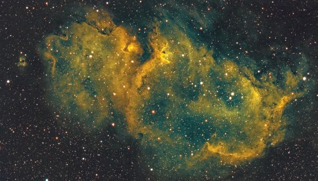 Soul Nebula SHO,                                Astro_Sholo