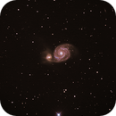 M 51 / NGC 5195 - im Sternbild Großer Bär,                                Sammler