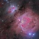 M42 - Ha_LRGB,                                Steve Milne