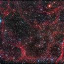 Simeis 147 (Sh2-240) Supernova remnant,                                Fernando De Ronzo