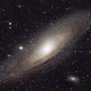 Andromeda Galaxy - M31 in RGB,                                Tom Dinneen