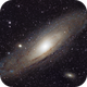 Andromeda Galaxy - M31 in RGB,                                Tom Dinneen