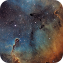 Elephant's Trunk nebula - completely new rework,                                  Thomas Richter