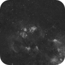 NGC7635 - Around the Bubble - wide field with 50 mm,                                Exalastro