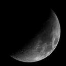 Moon - 20200429 - Bresser AR-102XS at 70mm F6.5,                                altazastro