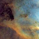 Portion of North American Nebula SHO,                                Wembley2000