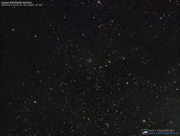 Comet 64P/Swift-Gehrels,                                José J. Chambó