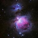 M42 - Orion Nebula,                                Marcel & Rahel