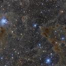 Iris nebula wide field,                                Byoungjun Jeong