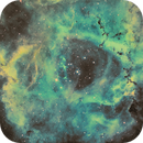 Rosette core in Hubble palate,                                philhilo