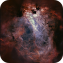 M17 Omega Nebula (Ha - OIII),                                sky-watcher (johny)