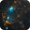 Part of Small Magellanic Cloud,                                astre