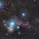 Flame and Horsehead nebula,                                Andrea Pistocchini - pisto92