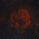 The Spaghetti Nebula, Simeis 147, SH2-240,                                Steven Bellavia