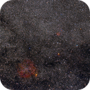 IC1396 and surroundings - wide field,                                Almos Balasi