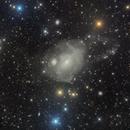 Rip City Fornax A (NGC1316) with a faint loop,                                Pleiades Astrophotography Team