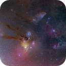 Antares and Jupiter at the Rho Ophiuchi region high res whide field,                                Thomas Klemmer