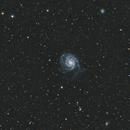 Pinwheel Galaxy - M101 - With Star Adventurer,                                Pea@Mauro