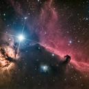 Flame and Horsehead Nebula,                                Wirrkopf