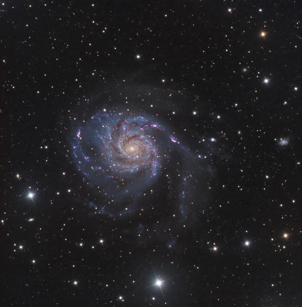 M101,                                Dave & telescope