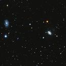 NGC 4151 and 4145,                                Robert Browning