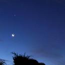 Mond, Jupiter, Mars, Venus, Regulus,                                Bruno