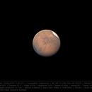 Mars 16 Aug 2018 - Valles Marineris - 3 min capture,                                Seb Lukas
