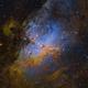 M16 Eagle Nebula - New process,                                Arnaud Peel