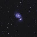 M51 - Whirlpool Galaxy,                                Wouter Cazaux