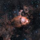IC 1795 - Fishhead Nebula in Ha and OIII,                                Tobias Artinger